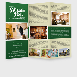 Print Design Atlantic Host Brochure