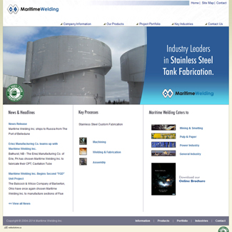 Web Design Maritime Welding
