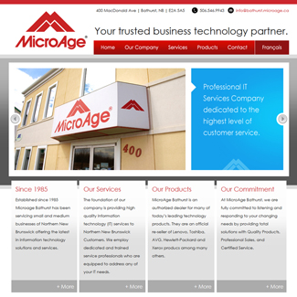 Web Design Microage Bathurst