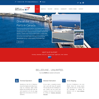 Web Design Port of Belledune