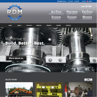 Responsive Web Design RDM Group