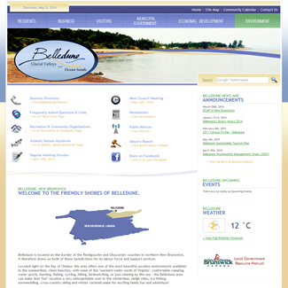 Web Design Village of Belledune