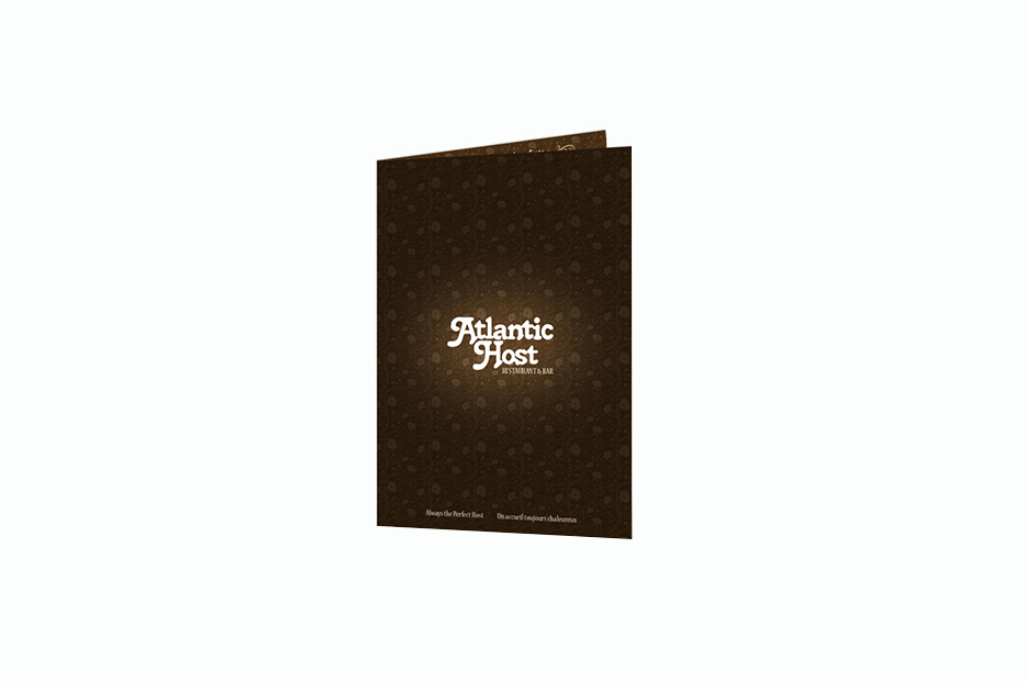 ATLANTIC HOST MENU