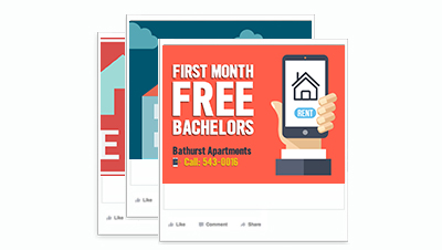Bathurst Apartments Facebook Post