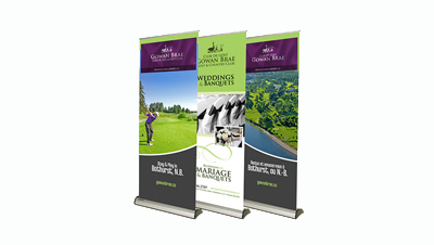 GOWAN BRAE POPUP BANNERS