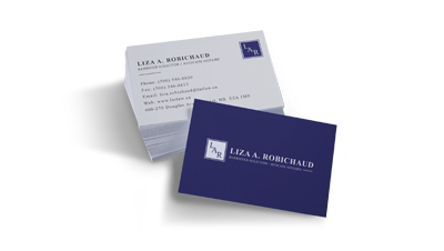 Liza A. Robichaud Business Card