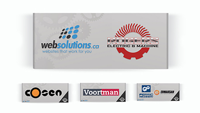 Rogers ELECTRIC & MACHINE Supplier Banners