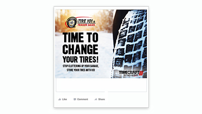 TIRE 101 & TRAILER SALES Facebook Post
